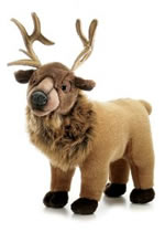 Eli Elk Aurora Plush Flopsie 12 inches