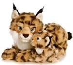 Mama Lynx and Baby Lynx